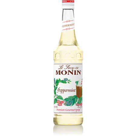 Monin® Peppermint Flavored Syrup - 750 mL