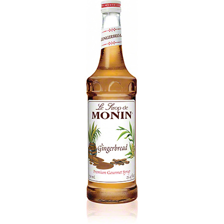 Monin® Gingerbread Flavored Syrup - 750 mL