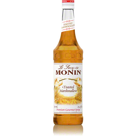 Monin® Toasted Marshmallow Flavored Syrup - 750 mL