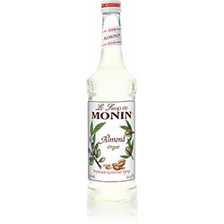 Monin® Almond (Orgeat) Flavored Syrup - 750 mL
