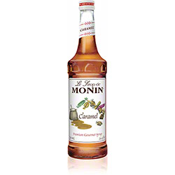 Monin® Caramel Flavored Syrup - 750 mL