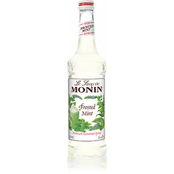 Monin® Frosted Mint Flavored Syrup - 750 mL