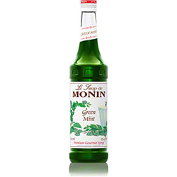 Monin® Green Mint Syrup - 750 mL