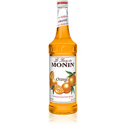 Monin® Orange Flavored Syrup - 750 mL