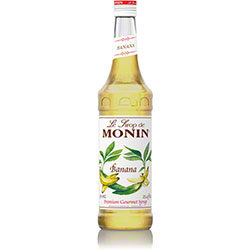 Monin® Banana Flavored Syrup - 750 mL