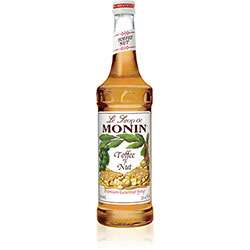 Monin® Toffee Nut Flavored Syrup - 750 mL
