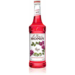 Monin® Rose Flavored Syrup - 750 mL