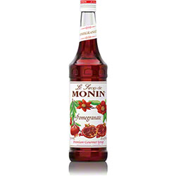 Monin® Pomegranate Flavored Syrup - 750 mL