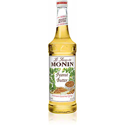 Monin® Peanut Butter Flavored Syrup - 750 mL