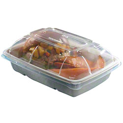 Sabert® Clear Lid For 20 oz. & 30 oz. Rectangle Containers