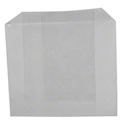 #12 White Grease Resistant Bag