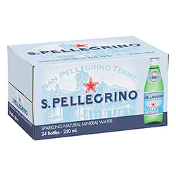 San Pellegrino Sparkling Mineral Water - 250 mL Bottle