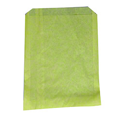 "#19 Yellow Grease Resistant Sandwich Bags - 6"" x 1/4"" x 7 1/4"""