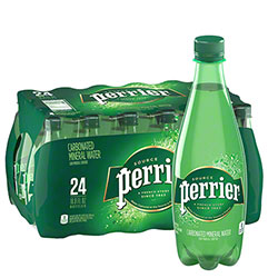 Perrier Carbonated Mineral Water - 16.9 oz.
