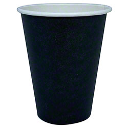 Single Wall Black Hot Cups