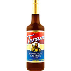 Torani® Brown Sugar Cinnamon Syrup - 750 mL