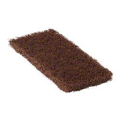 "SSS® Brown Heavy Duty Pad - 4.5"" x 10"""