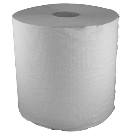 "Enviro-Soft White Universal Roll Towels - 8"" x 800'"