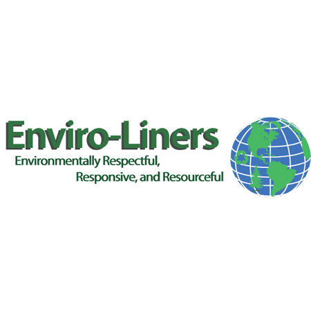 Enviro-Liner High Density Bag - 24 x 24, 6 mic, Black