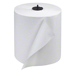 "Tork® Advanced Matic® 1 Ply White Hand Towel Roll - 8"" x 700'"