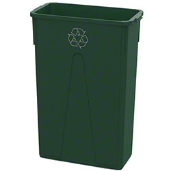 Impact® Value-Plus™ 23 Gallon Slim Recycle Container - Green