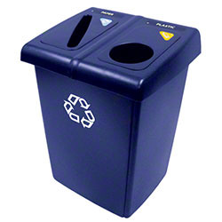 Rubbermaid® Two Stream Glutton® Recycling Stations