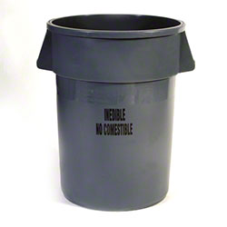 Rubbermaid® BRUTE® Round Food Handling Container