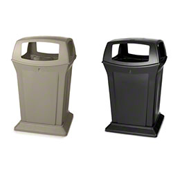 Rubbermaid® Ranger® 4 Opening Waste Containers