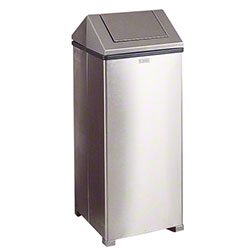 Rubbermaid® Hinged Top Waste Container - 24 Gal.