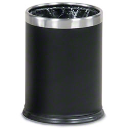 Rubbermaid® Executive Hide-A-Bag Open-Top Wastebasket