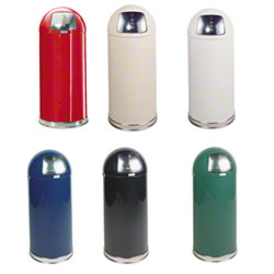 Rubbermaid® Round Top Receptacles