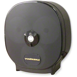 Von Drehle Carousel Tissue Dispenser - Smoke/Black