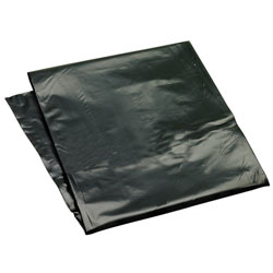 Low Density Repro Flat Pack Can Liner-40x47, 1.25 mil, Black
