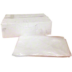 Low Density Flat Pack Liner - 24 x 33, HD 1.0 mil, Clear