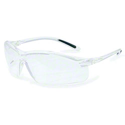 Uvex™ A700 Safety Eyewear - Clear Lens/Clear Frame