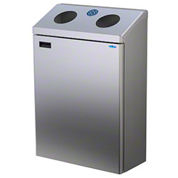 Frost™ Modular Recycling Station - Stainless Steel
