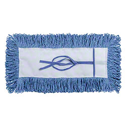 """M2 Professional G-Stat Cut End Dustmop Heads Only - 5"""" x 36"""", Blue"""