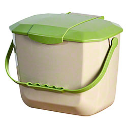 M2 Professional Kitchen Food Waste Container - 2.11 Gal.