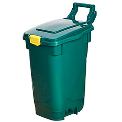 M2 Professional Food Waste Container w/Lock - 13 Gal., Green