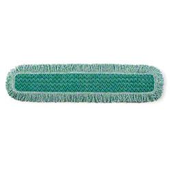 """Rubbermaid® HYGEN™ Microfiber Fringed Dust Mop -36"""", GN"""