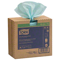 "Tork® Low-Lint Cleaning Cloth - 9"" x 16.5"", Turquoise"