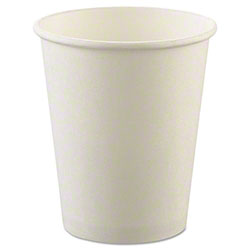 Genpak® White Hot Drink Cup - 12 oz.