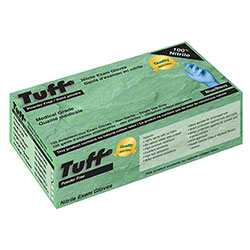 Wayne Tuff® Blue Disposable Nitrile Glove - Large