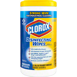 Clorox® Commercial Solutions® Disinfecting Wipes - 75 ct., Lemon Fresh
