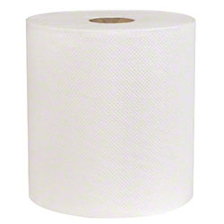 "Sellars® Mayfair® 1 Ply Hard Wound Roll Towel - 7.8"" x 800', White"