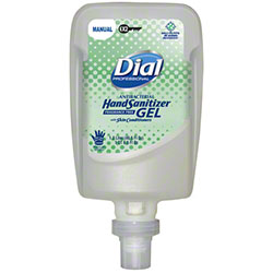 Dial® Hand Sanitizer Gel Fit™ Manual X2 Refill - 1.2 L