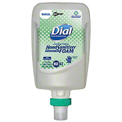 Dial® Foam Hand Sanitizer Fit™ Manual X2 Refill - 1.2 L