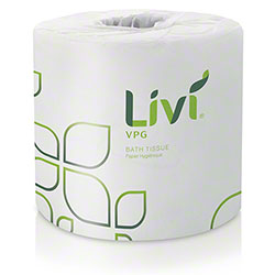 "Livi® VPG® 2 Ply Bathroom Tissue - 4.06"" x 3.66"""