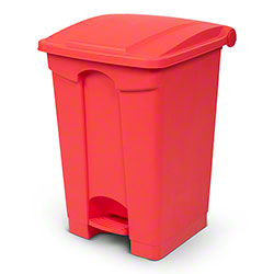 Toter® Fire Resistant Plastic Step-On Containers