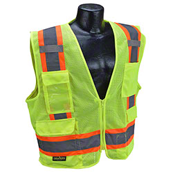 Radwear® SV6-2 Surveyor Mesh Safety Vest